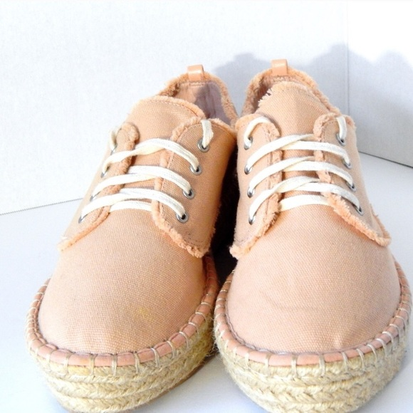 b79778b01 DV by Dolce Vita Shoes - Espadrilles tennis shoes coral colored lace up